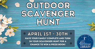 April Outdoor Scavenger Hunt