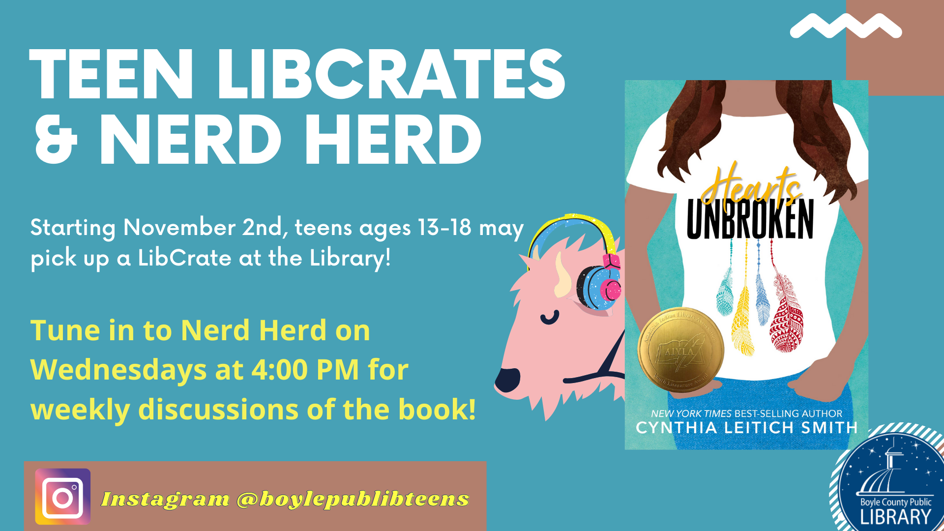LibCrates and Nerd Herd
